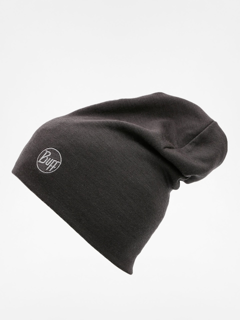 Czapka zimowa Buff Heavy Merino Wool (solid black)