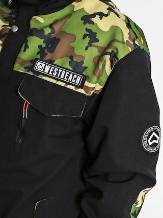 Kurtka snowboardowa Westbeach Cook (black)