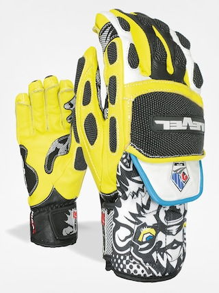 Rękawice Level Worldcup CF (black/yellow)