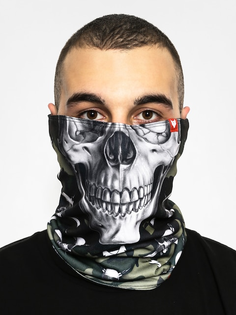 Ocieplacz Wolface Skull Moro