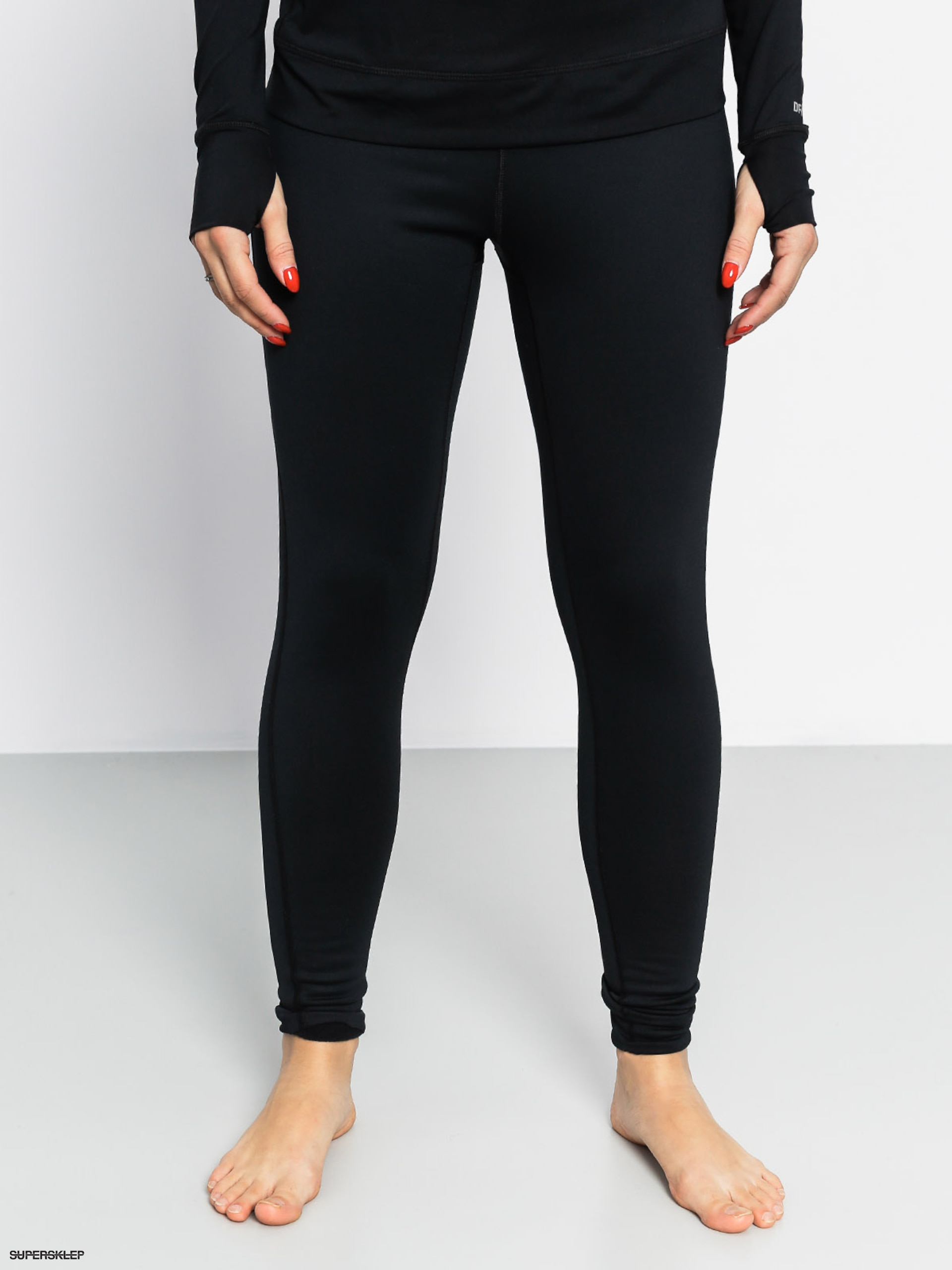 Legginsy aktywne Burton Expedition Pant Wmn (true black)
