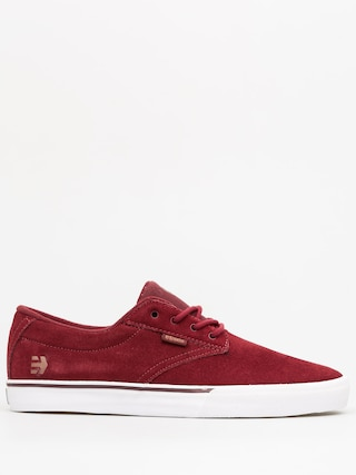 Buty Etnies Jameson Vulc (burgundy/tan/white)