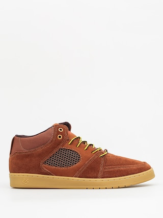 Buty Es Accel Slim Mid (brown/gum)