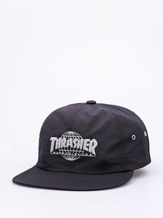 Czapka z daszkiem HUF Thrasher TDS 6 Panel ZD (black)
