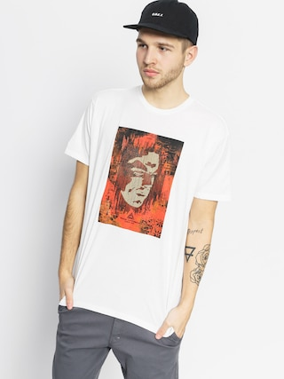 T-shirt OBEY Decoding Disinformation (white)