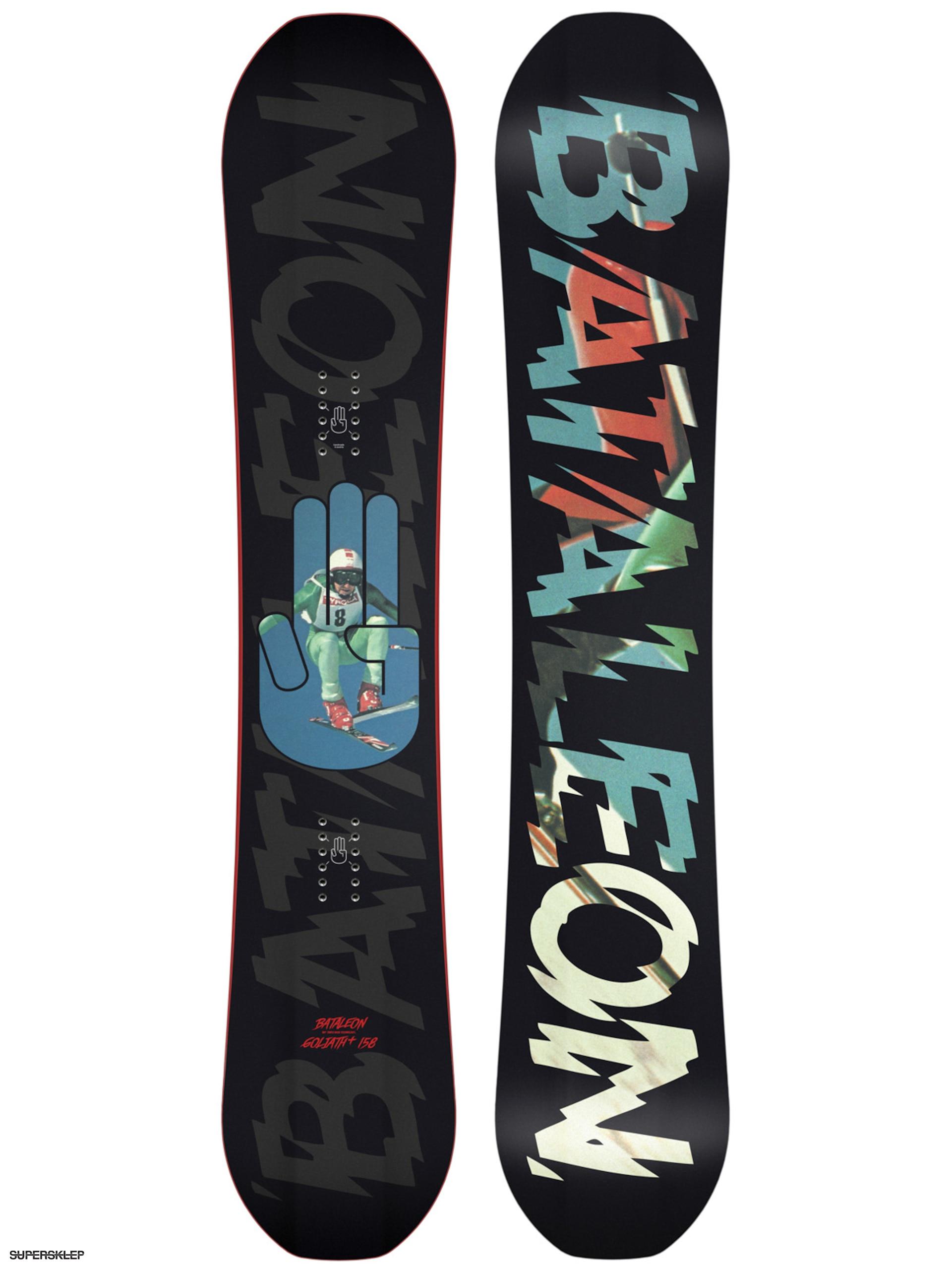 Deska snowboardowa Bataleon Goliath 158 (black multi/black blue)