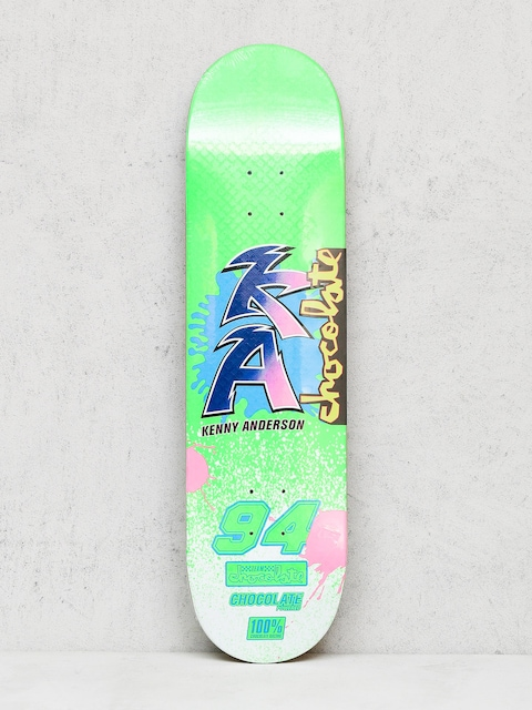 Deck Chocolate Anderson Braaaap (neon green)