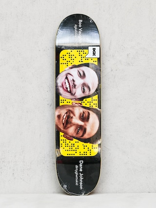 Deck DGK Boo And Dane Swap (black/yellow)