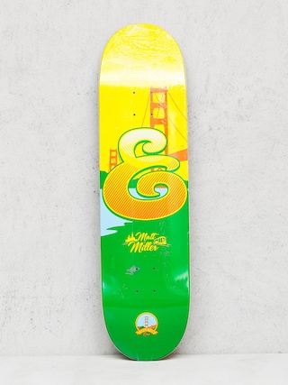 Deck Expedition One Matt Miller Coastal (yellow/green)