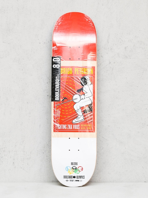 Deck Boulevard Petersen Olympic (red/white)