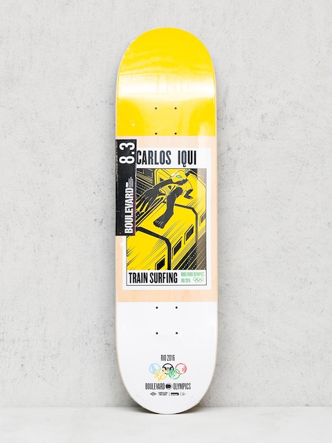 Deck Boulevard Iqui Olimpic (yellow/white)