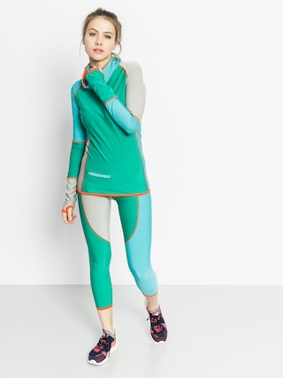 Longsleeve aktywny Majesty Surface Lady Base Layer Top Wmn (green/teal)
