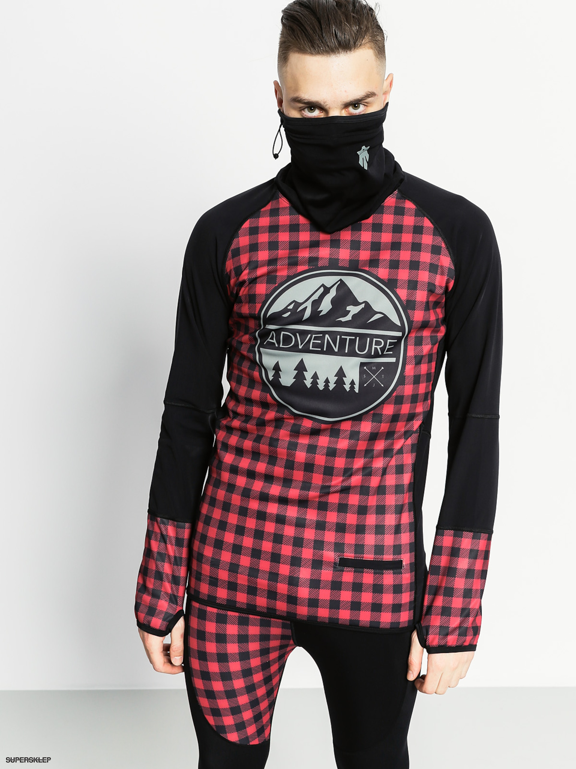 Longsleeve aktywny Majesty Surface Base Layer Top (lumberjack)