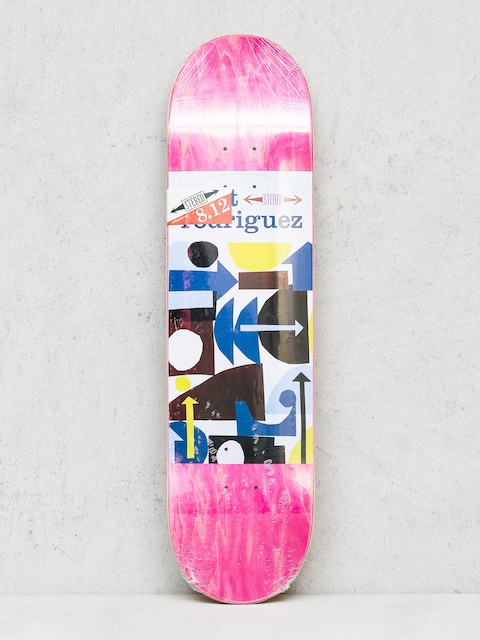 Deck Stereo Rodriguez Collage (pink/white)