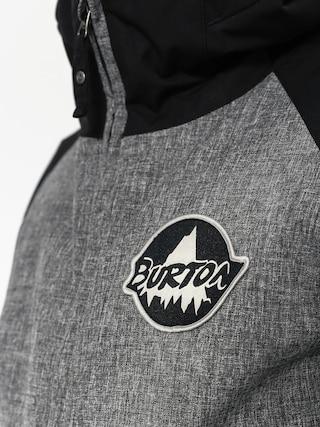 Dziecięca kurtka snowboardowa Burton Game Day (hther irn gry/true black)