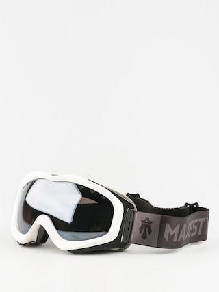 Gogle Majesty Patrol (glossy white/black onyx mirror/clear citrine)