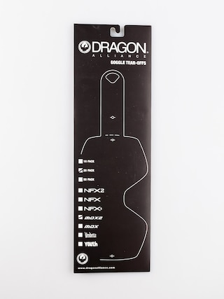 Zrywki do gogli Dragon MDX2 (tear off 20 pack)