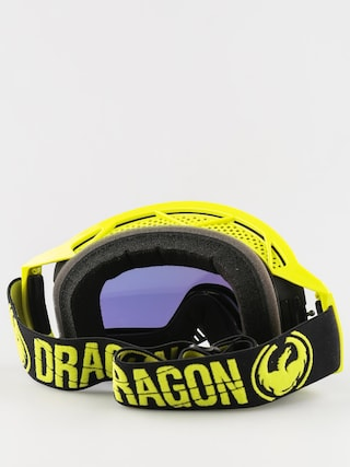 Gogle crossowe Dragon NFX2 (mergehighvis/smoke gold 10pk+ls)