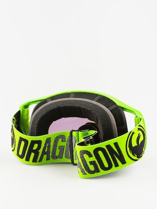 Gogle crossowe Dragon Vendetta (3 w/teart off/break green/smoke gold 10pkto)