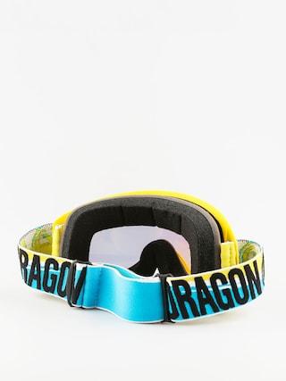 Gogle Dragon MDX (bolt high vis/smokegold clear)