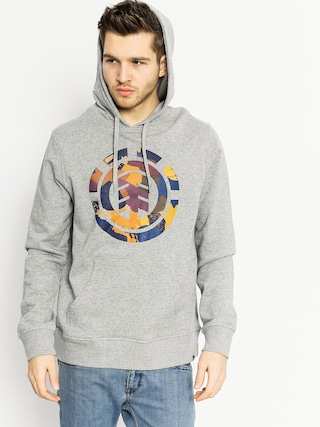 Bluza z kapturem Element Cut Out Icon HD (grey heather)