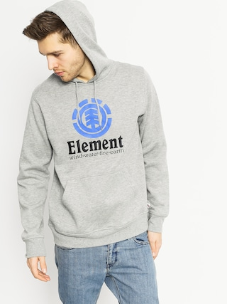 Bluza z kapturem Element Vertical HD (grey heather)