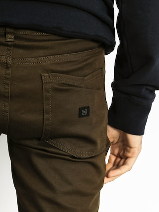 Spodnie Kr3w K Slim 5 Pocket (dark drab)