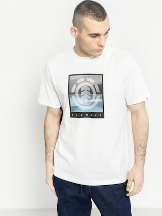 T-shirt Element Rolling (optic white)