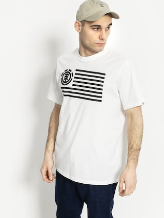 T-shirt Element Flag (optic white)