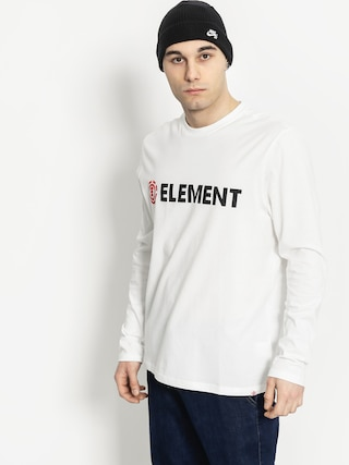 Longsleeve Element Horizontal (optic white)