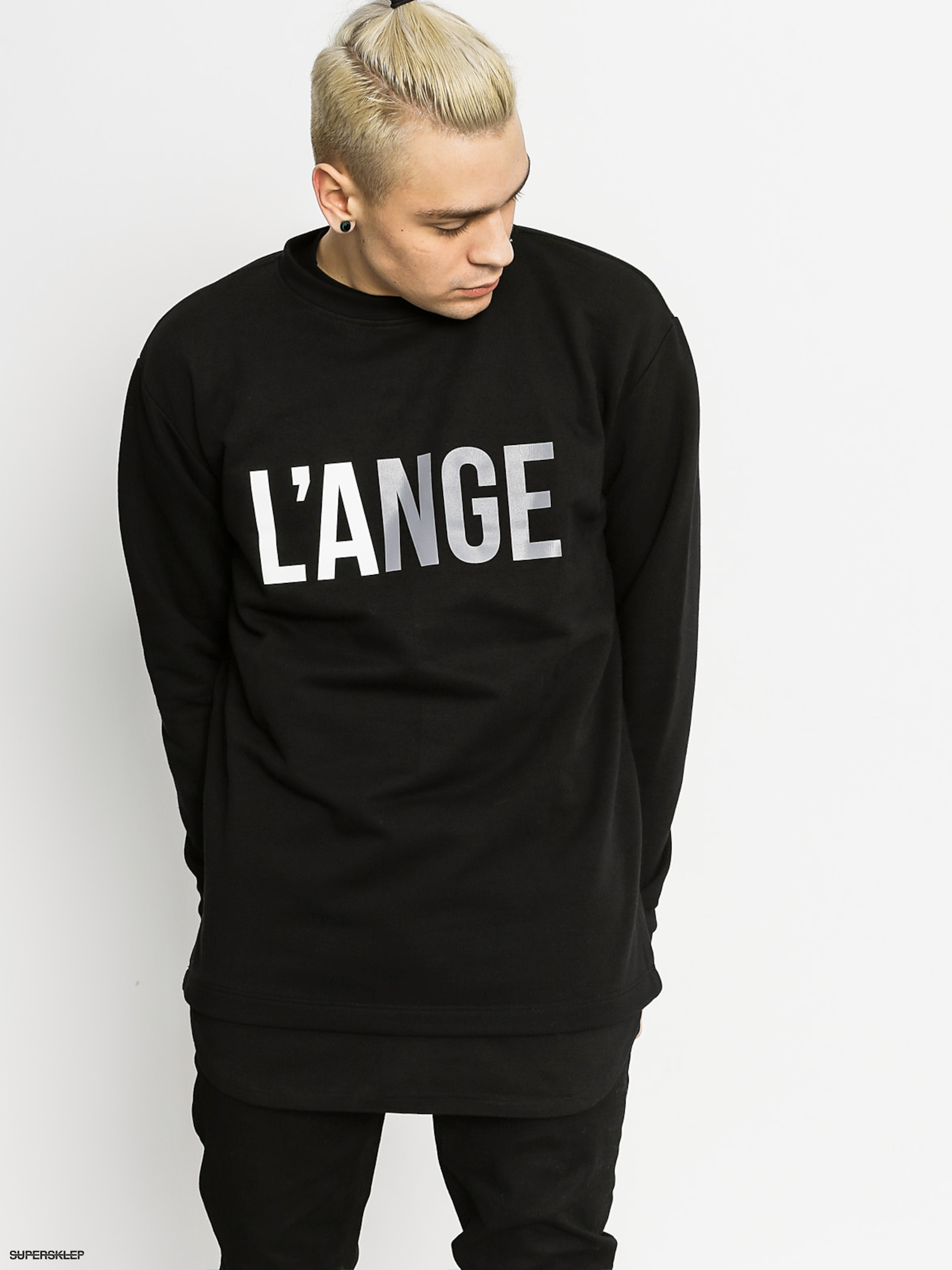 Bluza Urban Flavours Name Lange (black)