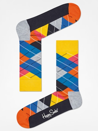 Skarpetki Happy Socks Argyle (yellow/grey/black)