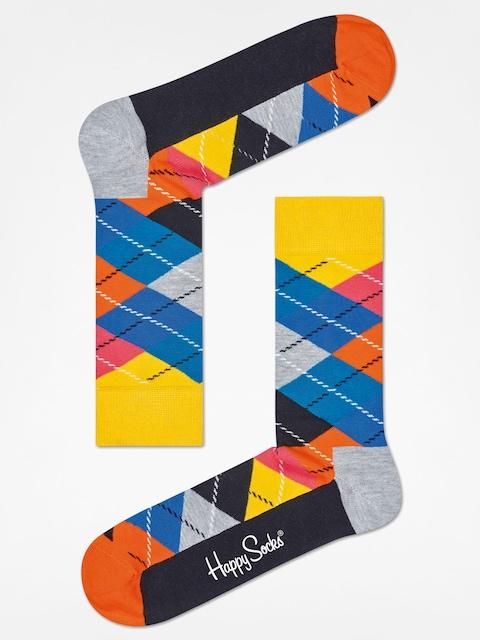 Skarpetki Happy Socks Argyle (yellow/grey/black)