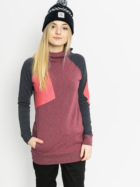 Bluza z kapturem Majesty Flipside HD Wmn (dirty pink/graphite)