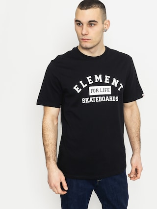 T-shirt Element For Life (flint black)