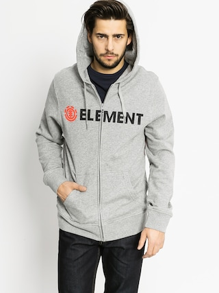 Bluza z kapturem Element Horizontal ZHD (grey heather)