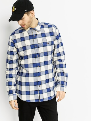Koszula Diamond Supply Co. Holiday Flannel Plaid LS (navy)