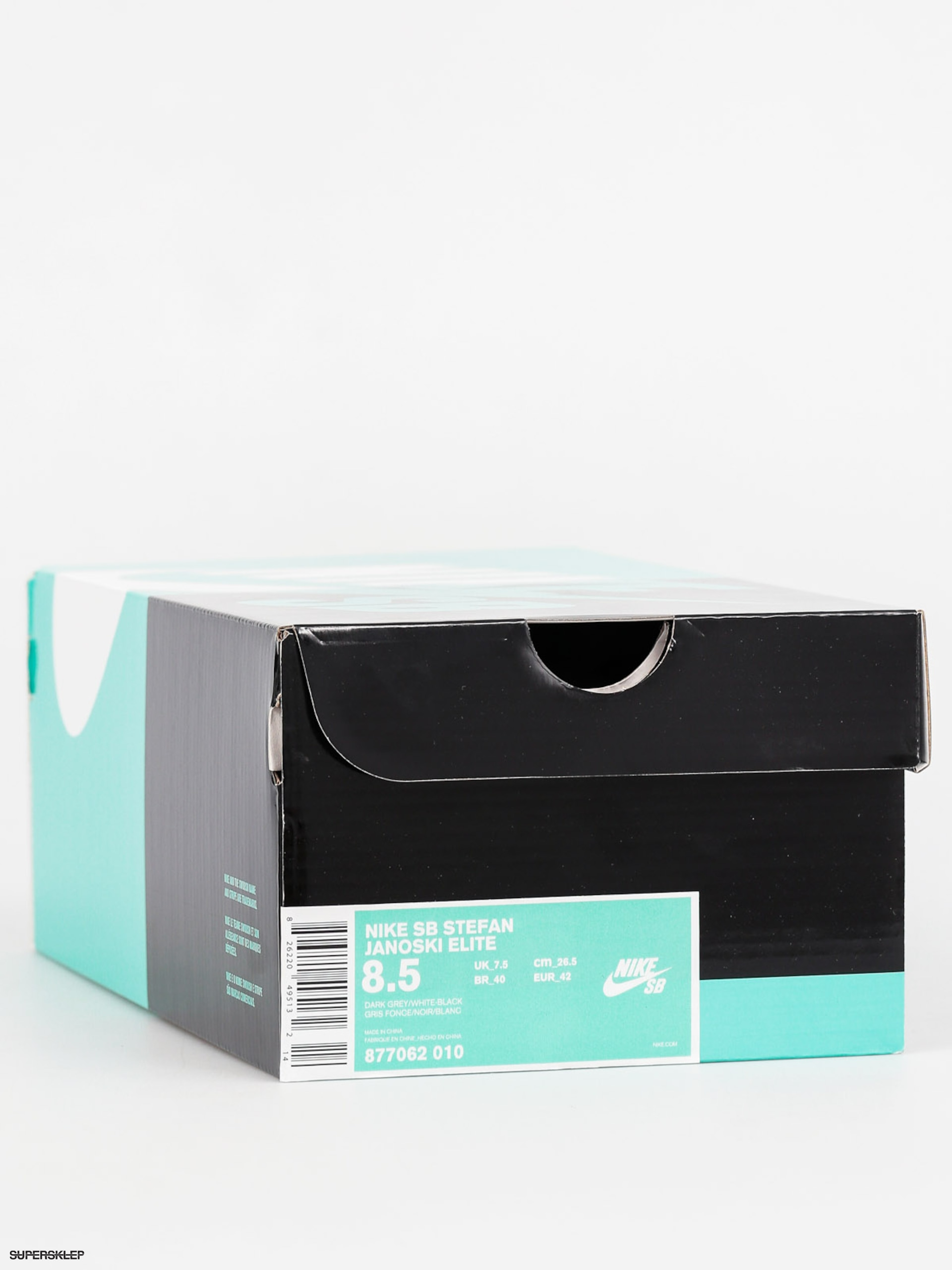 separation shoes 8e2c1 55788 Buty Nike SB Stefan Janoski Elite (dark grey/white black)