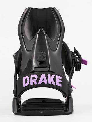 Wiązania snowboardowe Drake GT W Wmn (black)