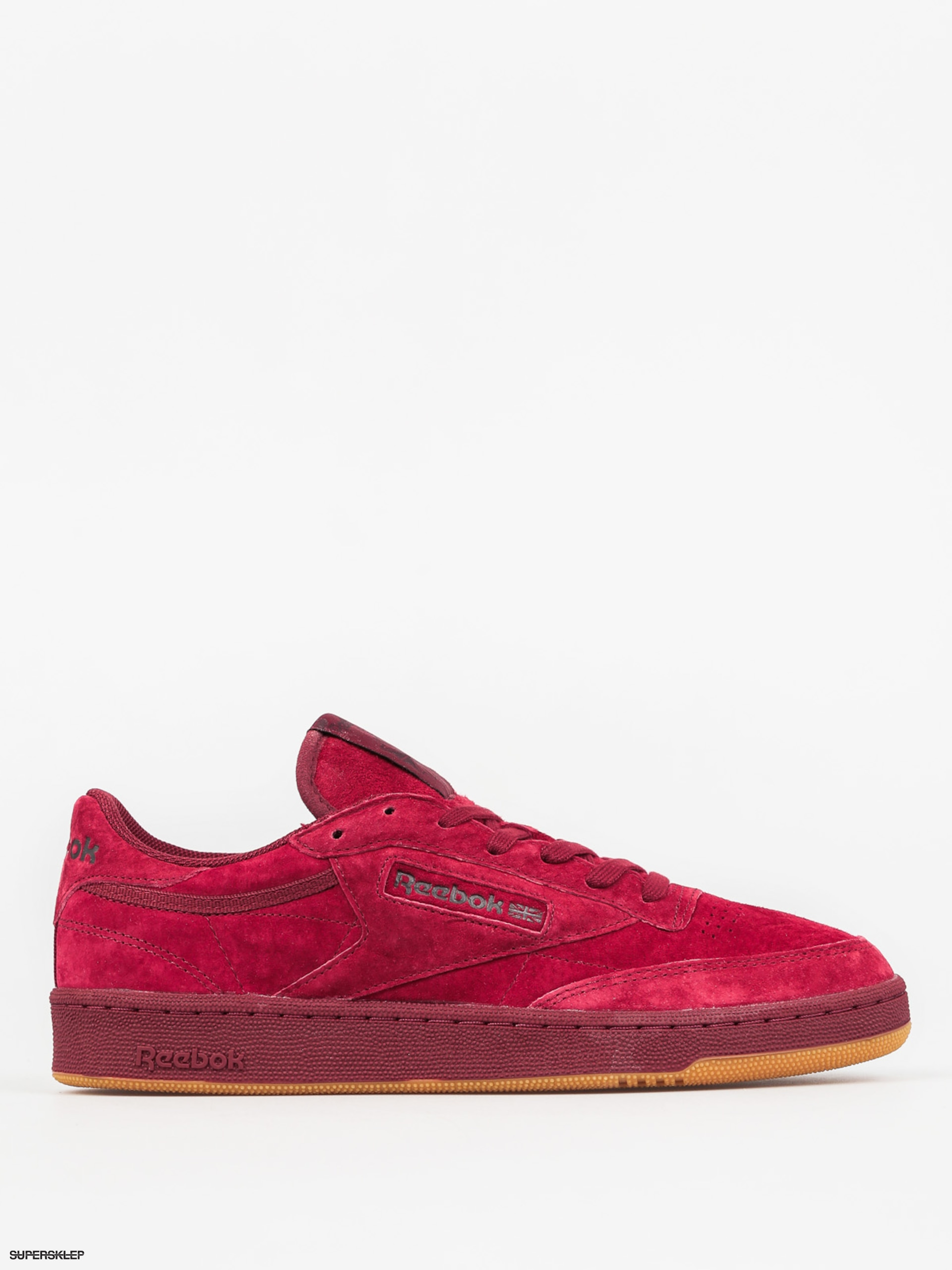 Buty Reebok Club C 85 Tg (cllgt burgundy dark red)