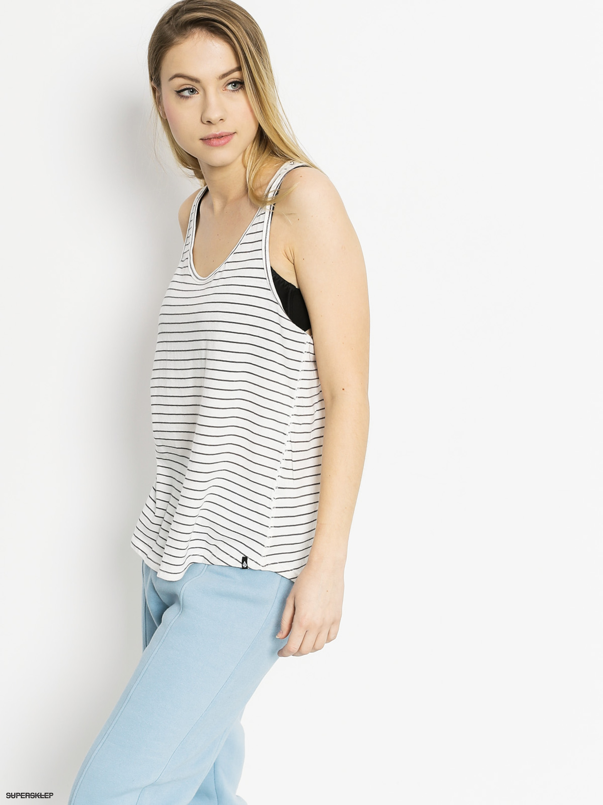 Koszulka Volcom Lived In Stripe Tank Wmn