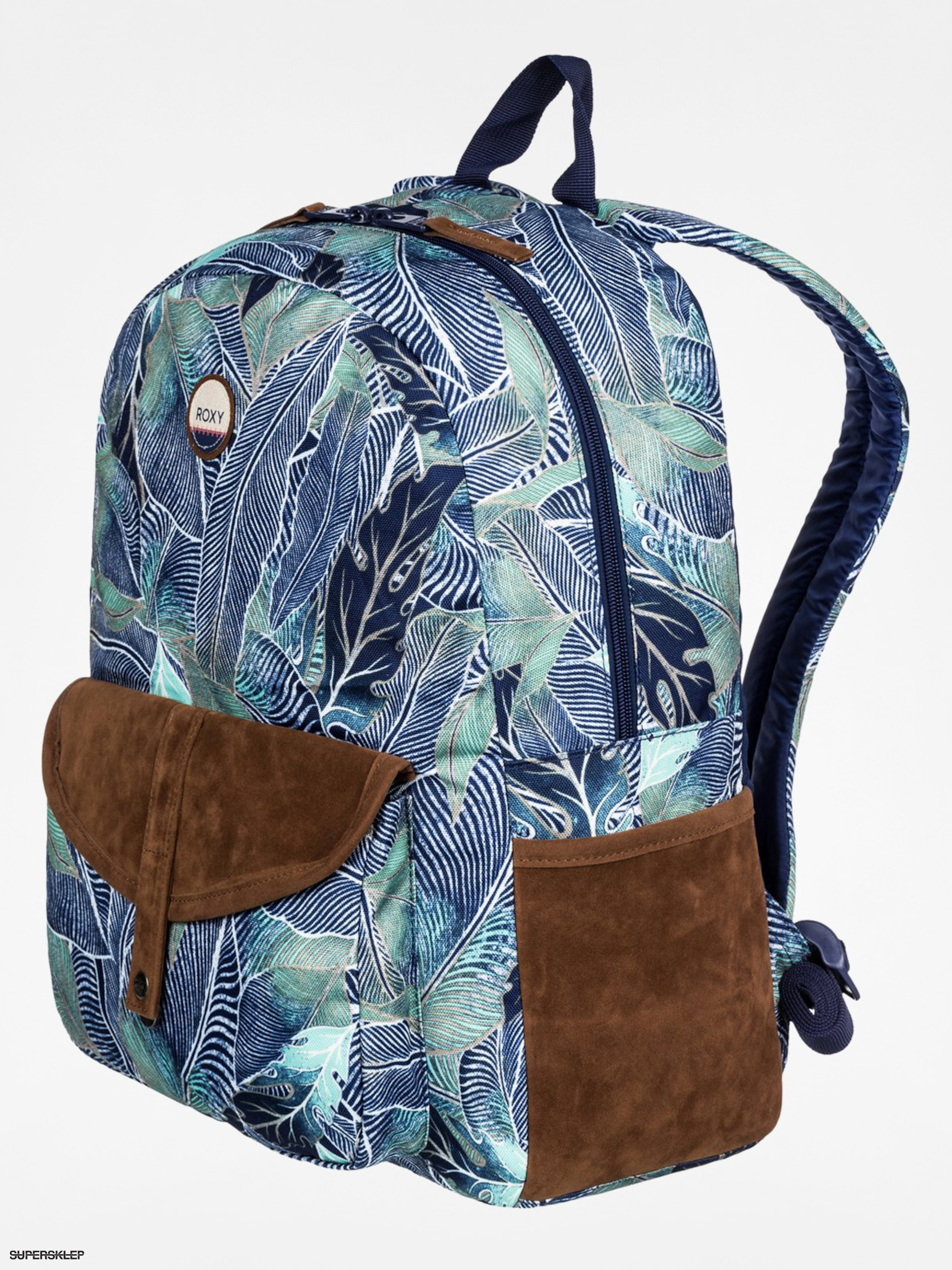 Plecak Roxy Carribean Wmn (navy/brown/green)