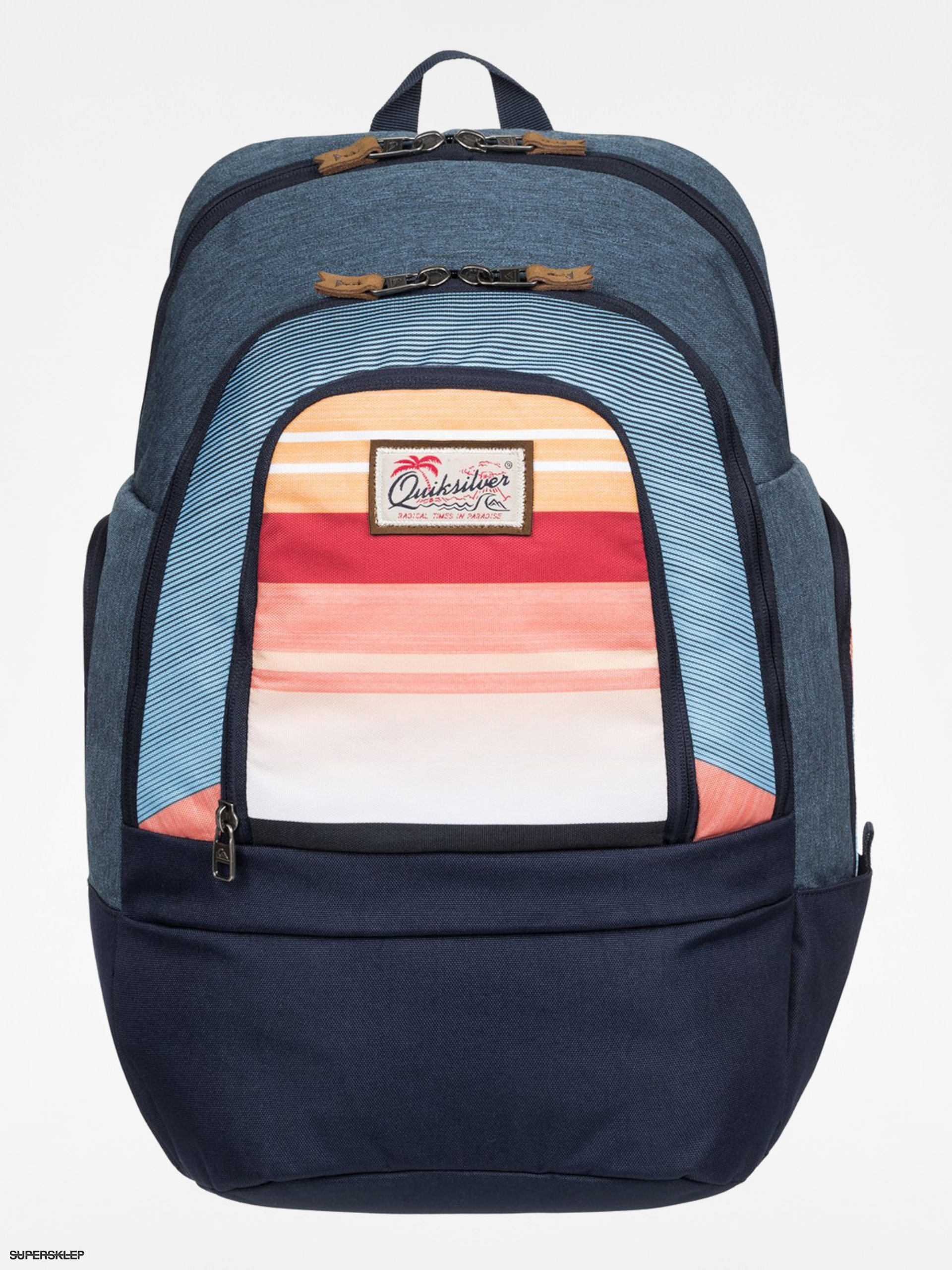 Plecak Quiksilver 1969 Special (navy/teal/orange)