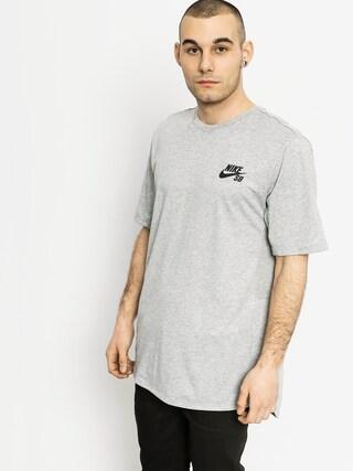T-shirt Nike SB Skyline Cool (grey heather)