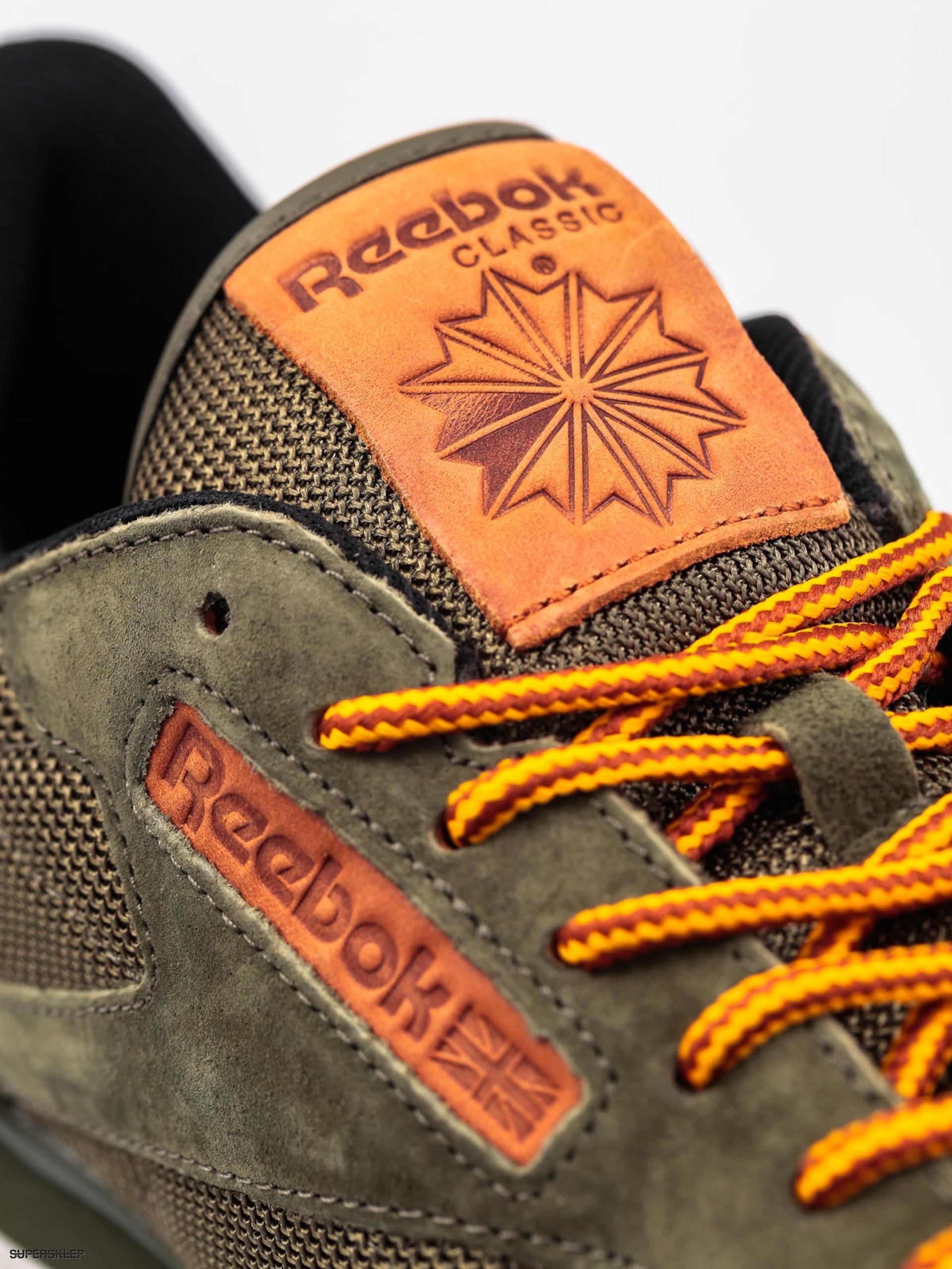 Buty Reebok Classic Leather Ol (poplar greensteelgold)