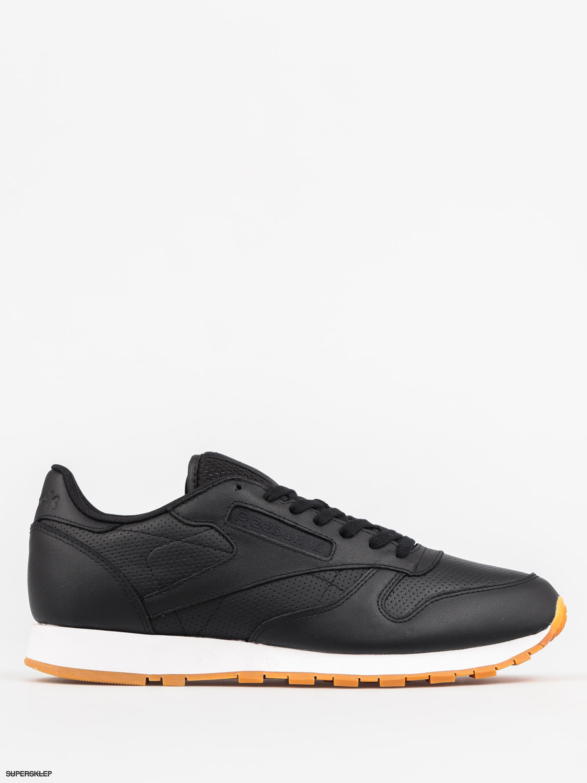 Buty Reebok Classic Leather Pg (black/white gum)