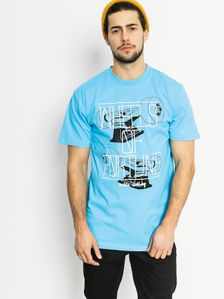 T-shirt Malita Wheels (blu)