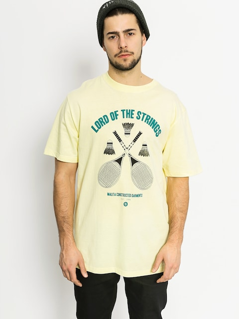 Koszulka Malita Badminton (pinacolada)