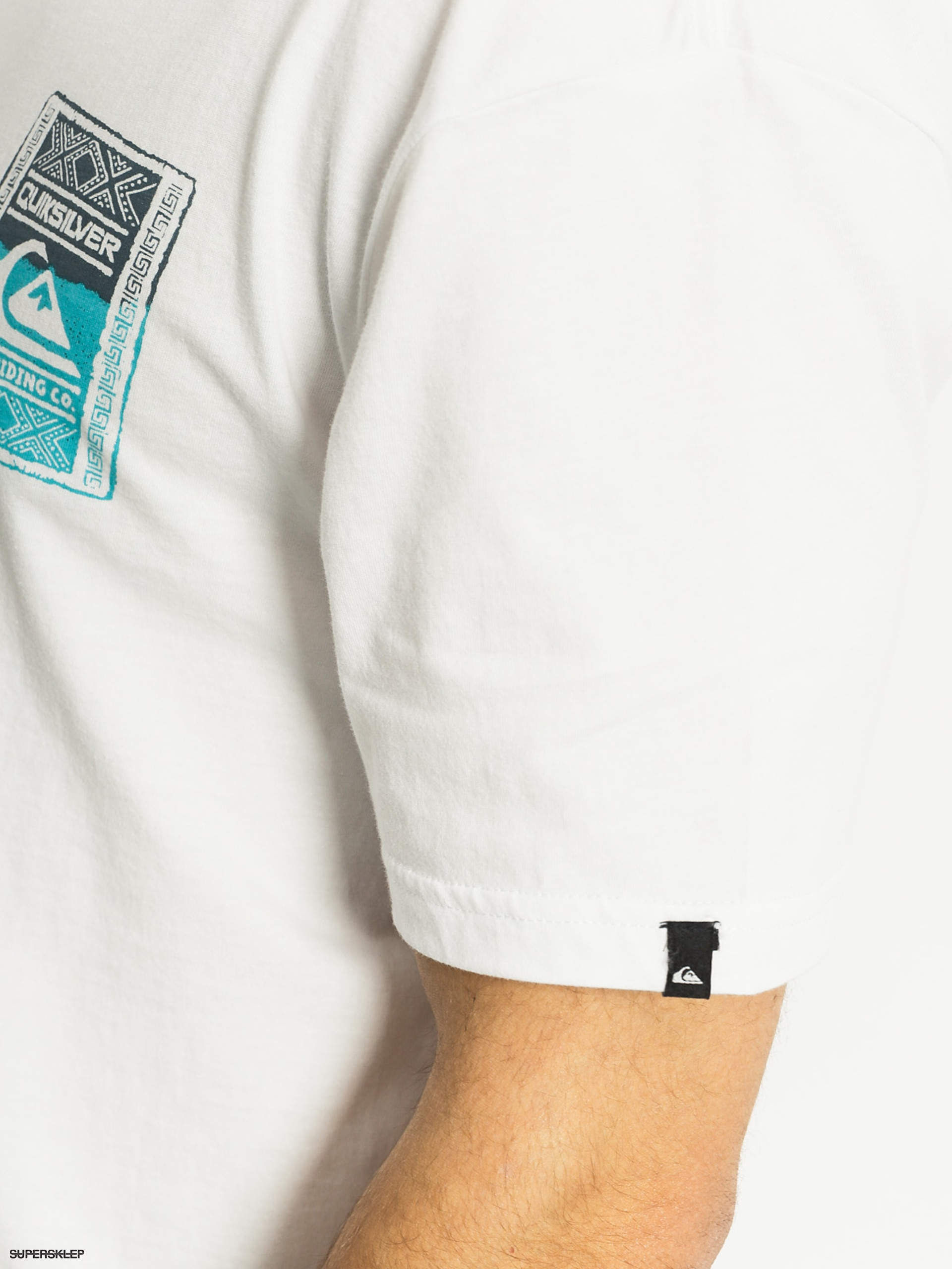 T-shirt Quiksilver Walled Up (white)