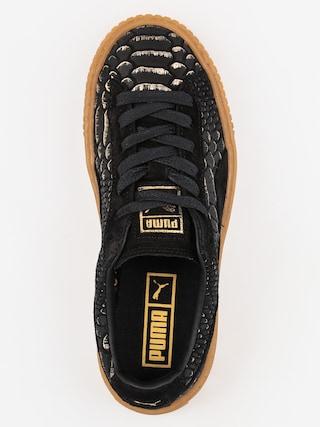 Buty Puma Platform Exotic Skin Wmn (black/gold)